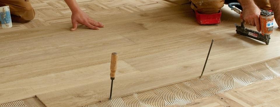parket leggen / houten vloer leggen